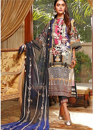Marjaan by Sifona Embroidered Lawn Unstitched 3 Piece Suit MJ20SF 04 - Luxury...