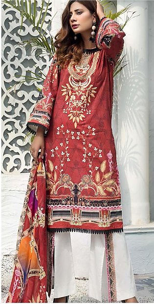 Sanoor by Noor Fatima Embroidered Lawn Suits Unstitched 3 Piece SN21SS D-266 - …