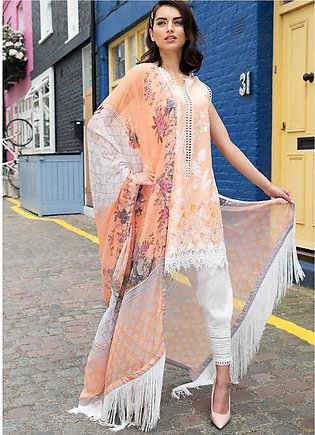 Sobia Nazir Embroidered Lawn Unstitched 3 Piece Suit SN20L 3B - Summer Collec...