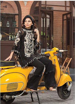 Epoque Suffuse by Sana Yasir Embroidered Organza Unstitched 3 Piece Suit ESY1...