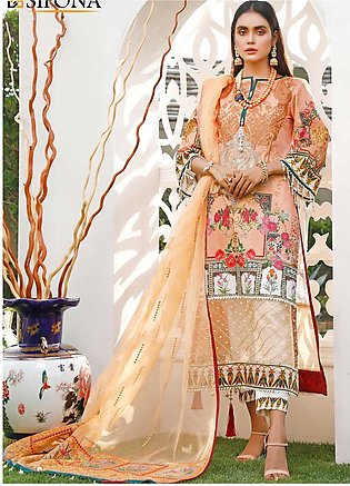 Marjaan by Sifona Embroidered Lawn Unstitched 3 Piece Suit MJ20SF 09 - Luxury...