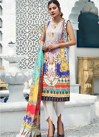 Sanoor by Noor Fatima Embroidered Lawn Suits Unstitched 3 Piece SN21SS D-260 - …