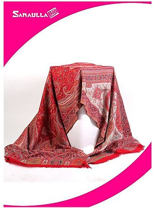 Blue Printed Pashmina Shawls for women - SW 202