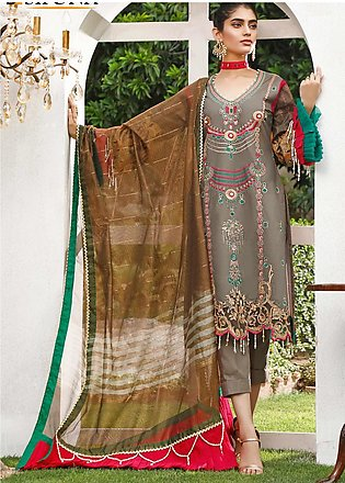 Marjaan by Sifona Embroidered Lawn Unstitched 3 Piece Suit MJ20SF 06 - Luxury...