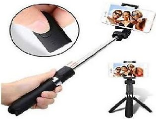 Wireless 2 In 1 Selfie Stick And Tripod L01 By Awam Shop