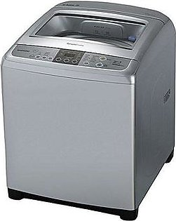 LG T9569NEFPS - Top Load Fully Automatic Washer - 9KG - Silver