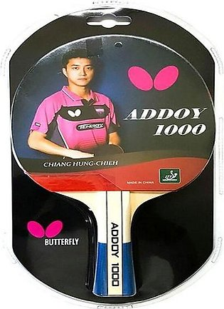 Butterfly Addoy 1000 Table Tennis Racket By Neuron Supplies