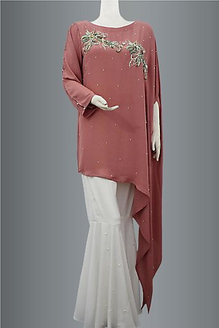 Tayle Style Shirt With Gharara Pant By KEHKASHAN COLLECTION