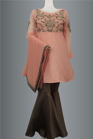 Shirt With Gharara Pant By Kehkashan Collection