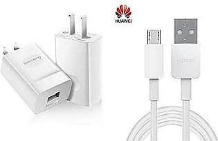 Huawei Quick Charger - 2A - With Micro USB Charging Cable For Honor 4X,5X,6X,...