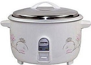 Geepas GRC4322 Electric Rice Cooker - 8 Liter - White