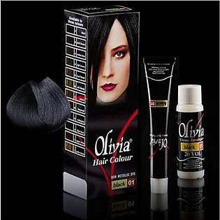 Olivia Hair Color - Black 01 By Mehran Electronics