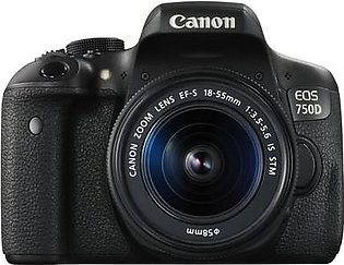 Canon EOS 750D DSLR Camera With 18-55mm Lens