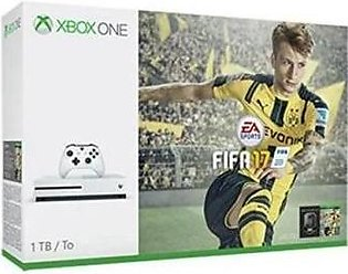 Xbox One S - FIFA 17 Bundle - 1TB - White