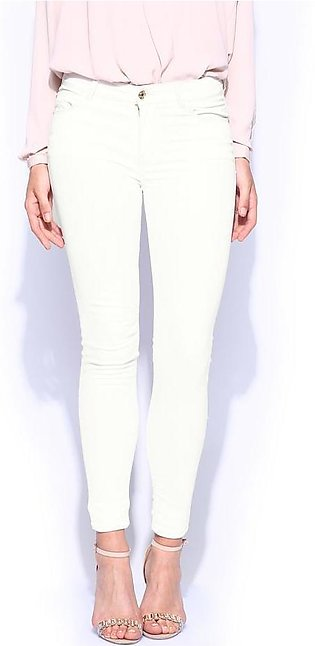 Women's White Denim Jeans SA-J13