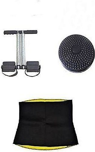 As seen on tv Pack Of 3 - Tummy Trimmer, Twister Disc & Hot Belt XXL
