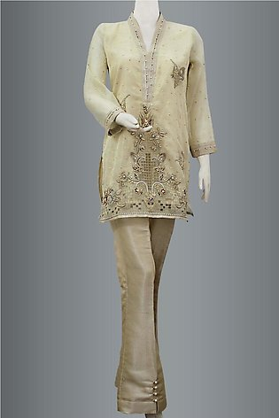 Shirt With Bell Bottom Trouser By KEHKASHAN COLLECTION