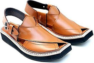 Getitpk Pure Leather Kaptaan Chappal Cs-084