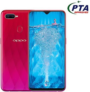Oppo F9 CPH1823 Pro (4G, 6GB RAM, 64GB ROM, Sunrise Red) Official Warranty