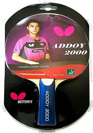 Butterfly Addoy 2000 Table Tennis Racket By Neuron Supplies