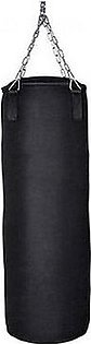 Tango Sports Black Punching Bag - 4 feet