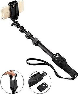 Yunteng Bluetooth Selfie Stick - Black