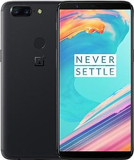 Oneplus 5T (4G, 8GB RAM, 128GB ROM, Midnight Black) With 1 Year Official Warranty