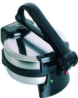 Westpoint TH-WM54 - Electric Roti Maker - Silver & Black