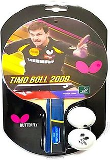 Butterfly Timo Boll 2000 Table Tennis Racket By Neuron Supplies
