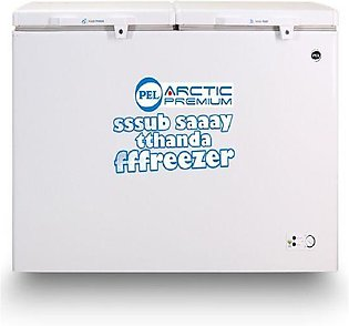 PEL PDFT - 135 - Arctic Premium Plus Deep Freezer - 370 Liters - Off White