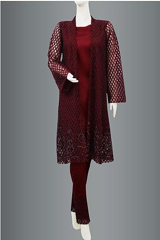 Coat With Trouser By Kehkashan Collection