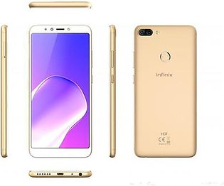 Infinix Hot 6 Pro X608 4G LTE, 3GB RAM, 32GB ROM Face Unlock - Magic Gold 1 Year Official Warranty