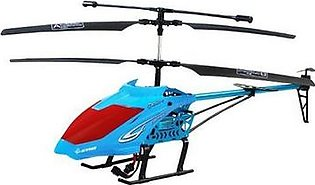 Rechargeable Remote Control Helicopter for Beginners Lh 1601 Blue