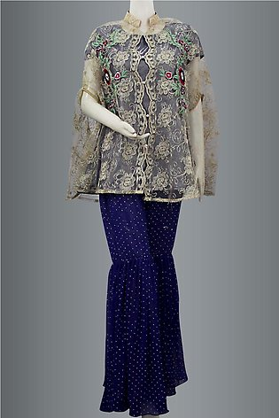 Coat With Gharara Pant By KEHKASHAN COLLECTION