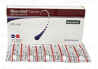 Neuromet Inj 500mcg 10Ampx1ml