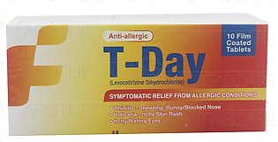 T-Day Tab 5mg 10's