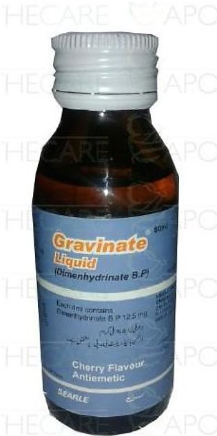 Gravinate Liq 12.5mg/4ml 60ml