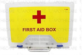 First Aid Box Empty Large 1's Model F-300 (Transparent)