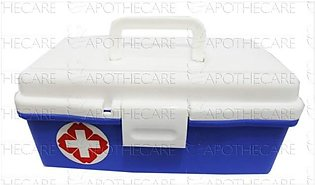 First Aid Box Empty Large 1's Model F-110 (Blue & White)