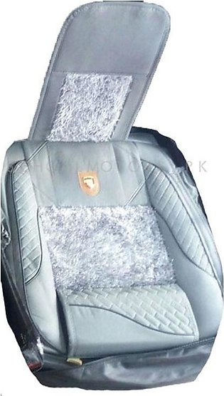 Fur Style Seat Covers Sky Blue