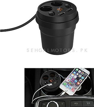 USB Cup Mobile Charger 4 in 1