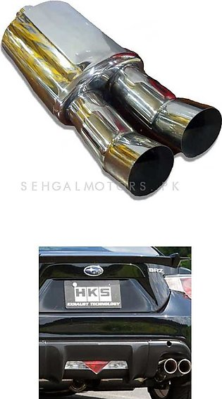 HKS Remus Style Double Pipe Exhaust Jasma Approved | Loud Sound