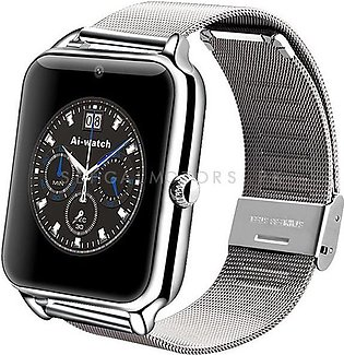 Premium Android Silver Smart Watch - Z50