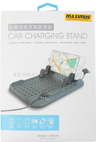 Car Mobile Charger with PVC Mat