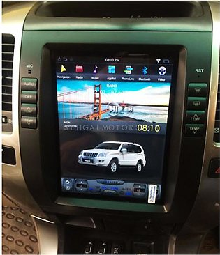 Toyota Prado Tesla Style IPS Display LCD Multimedia System Android 11 Inches ...
