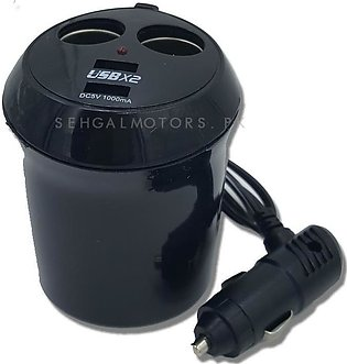 Cup Mobile Charger With 2 Usb Port