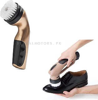 Electric Cordless Wireless Polisher Scrubber Shoe Car Motorcycle
