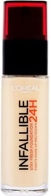 LOREAL INFALLIBLE FOUNDATION 24H (015) PORCELAINE