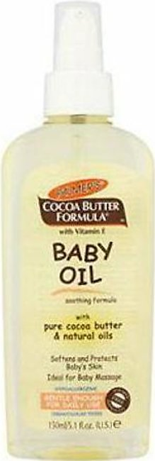 PALMERS BABY OIL WITH PURE COCOA BUTTER & NATURAL OILS 150ML