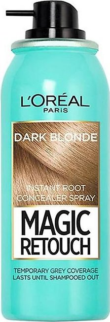 Magic Retouch Root Touch Up Hair Color Spray - Dark Blonde 75m